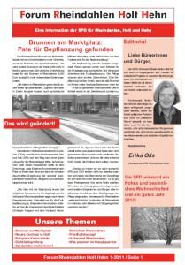 Fraktionszeitung 2011